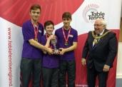 Junior British league Derby promotion