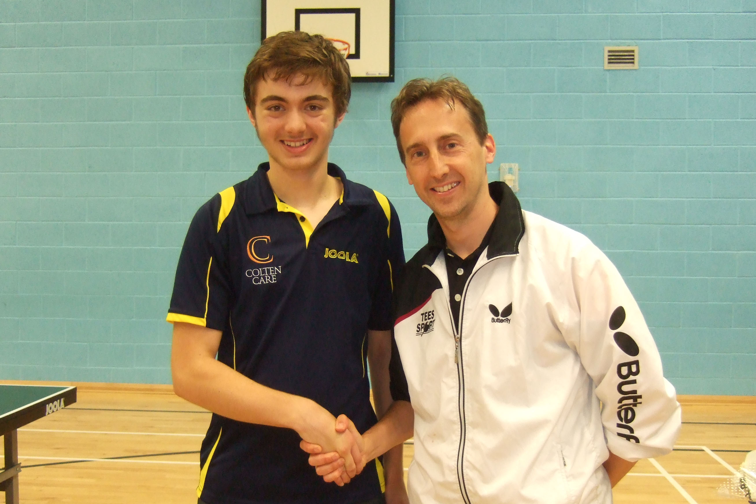 With Alex Perry 2X English National Champion