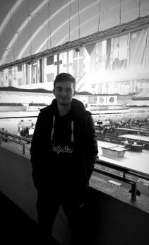 Matthew at the 2019 ITTF Belarus Open in Minsk